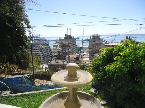 Valparaiso Walks: Vista hermosa desde el cerro