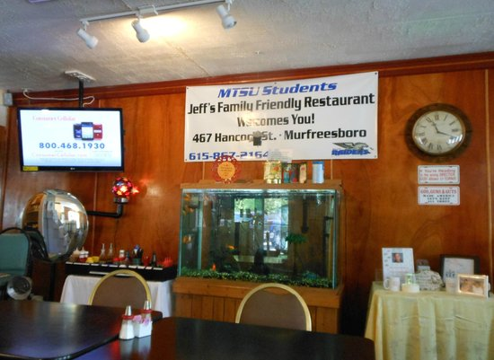 Jeff's Family Restaurant: Interior