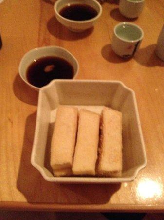 Wasabi Japanese Restaurant: Age Tofu - hot, crispy and delish