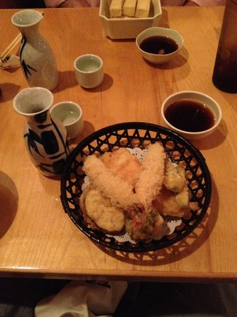 Wasabi Japanese Restaurant: Shrimp tempura to start with lots of tasty veggies