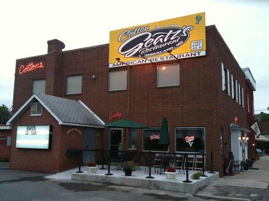 Geatz's Restaurant : 206 Paca Street Cumberland Maryland