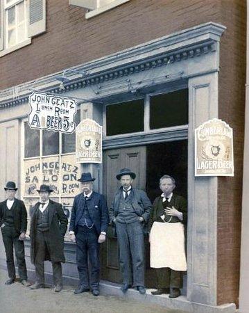 Geatz's Restaurant : Established 1880 Cumberland Maryland