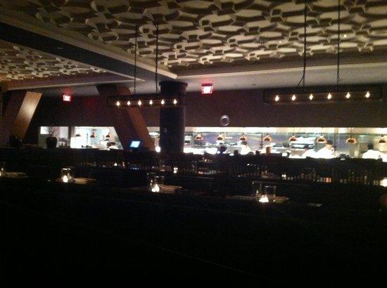 Amada: dining room