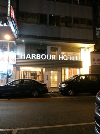 Harbour Hotel: From the street