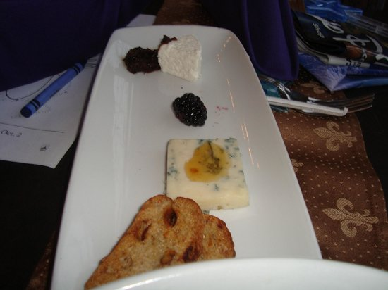 Cinderella's Royal Table: trip of cheese