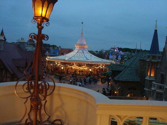 Cinderella's Royal Table: view