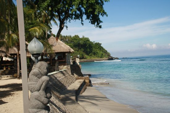 Puri Mas Boutique Resort & Spa : A view of the beach