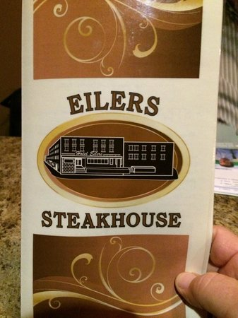 Eilers : The Menu