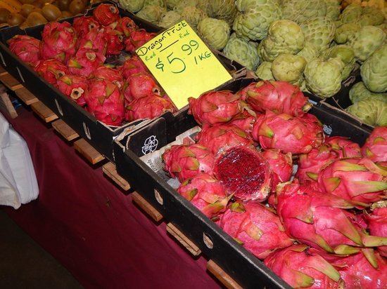Rusty's Market: Local Fruit - Red Dragon Fruit