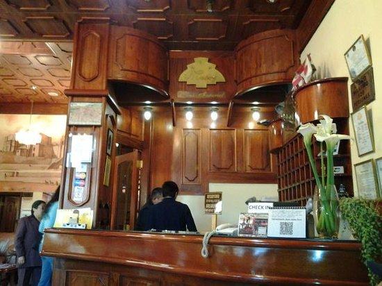 Hotel Mabey Cusco: Recepcion del hotel