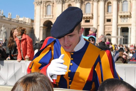 A View of Rome : Swiss Guard