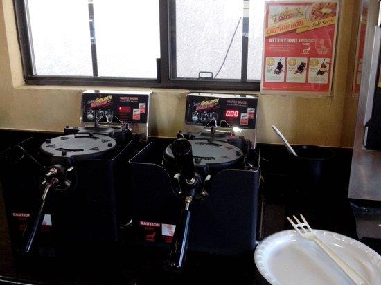 Park Vue Inn : waffles