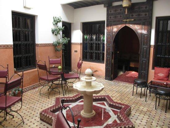 Riad Agdim : Beautiful, small courtyard