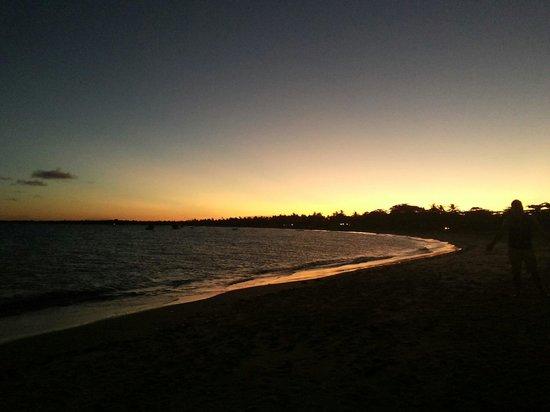 Corumbau Beach: Por do sol - Ponta do corumbau