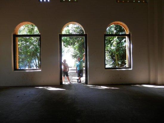 Parque dos Saltos : Foto de dentro da Casa de Força