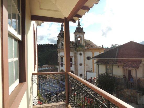 Hotel Solar Do Rosario: Vista do quarto