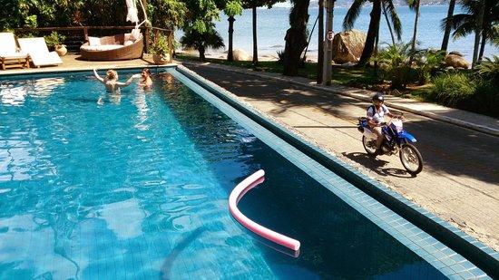 Porto Pacuiba Hotel: piscina aquecida