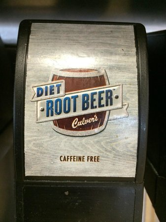 Culver's Diet Root Beer!