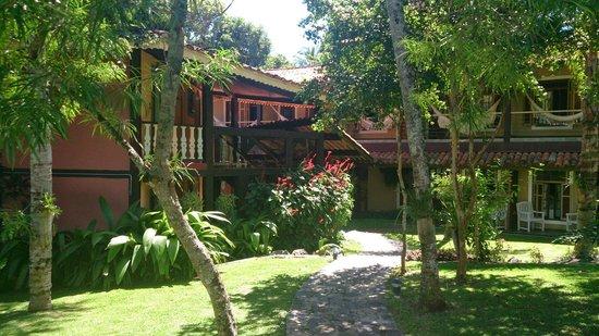 Porto Pacuiba Hotel: área interna