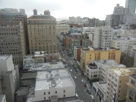 Kimpton Sir Francis Drake Hotel : View from the 17th floor, away from Union Square