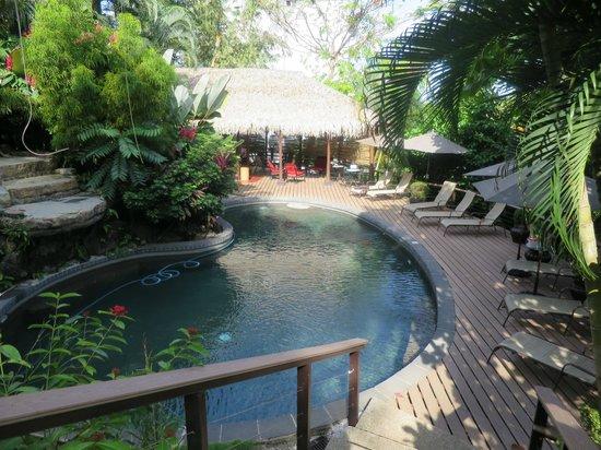 Tulemar Bungalows & Villas : Pool near our condo
