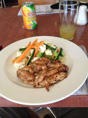 Cresta President Hotel: Hotel food