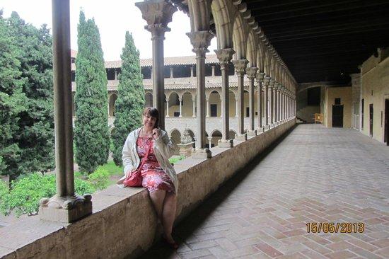 Reial Monestir de Santa Maria de Pedralbes : Клуатр