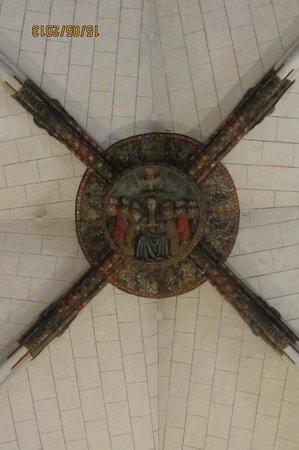 Reial Monestir de Santa Maria de Pedralbes : Потолок в госпитале