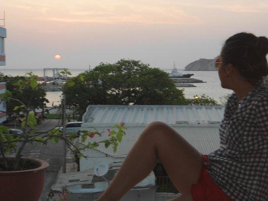 Hotel Tayromar: Vista desde la terraza