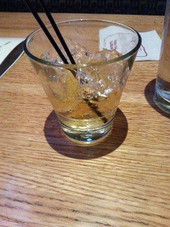Applebee's: Bourbon.  Yum yum
