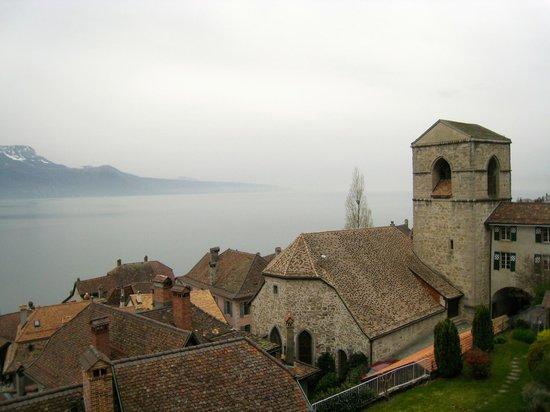 Domaine du Burignon : view over St. Saphorin