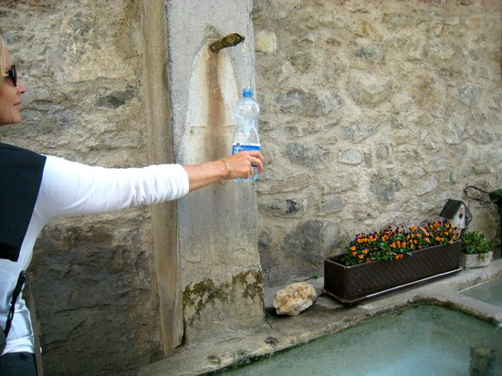 Domaine du Burignon: fresh water from any fountain