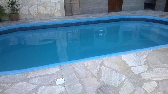 Pousada Mar Azul: Vista da piscina
