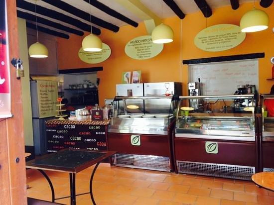 Cacao Heladeria : lindo sitio