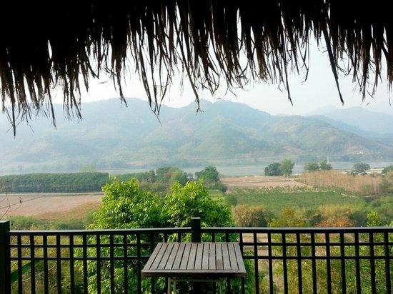 Rai Saeng Arun : The Mekong River and Laos beyond.