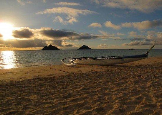 Lanikai Beach : The Mokes, Lanikai