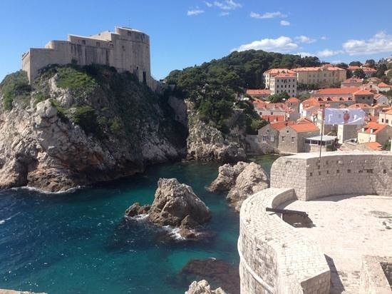 Dubrovnik Shore Tours: Foto desde la muralla o ciudad antigua.