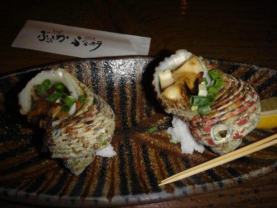 Uomachiya Bubuka: サザエの壷焼き