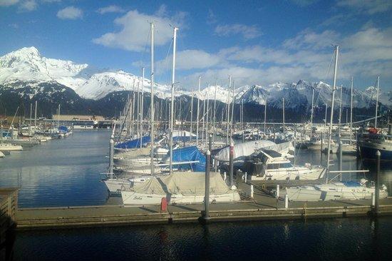 Chinooks Waterfront Restaurant : The View.