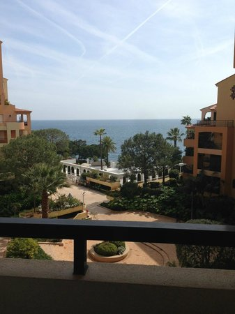 Columbus Monte-Carlo: Just checked in - beautiful view from balcony