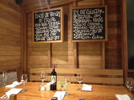 The Tree House Restaurante: Vino
