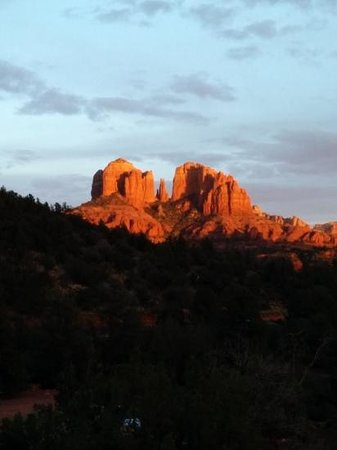 Sedona Cathedral Hideaway: shot from our window.....breathtaking views :)