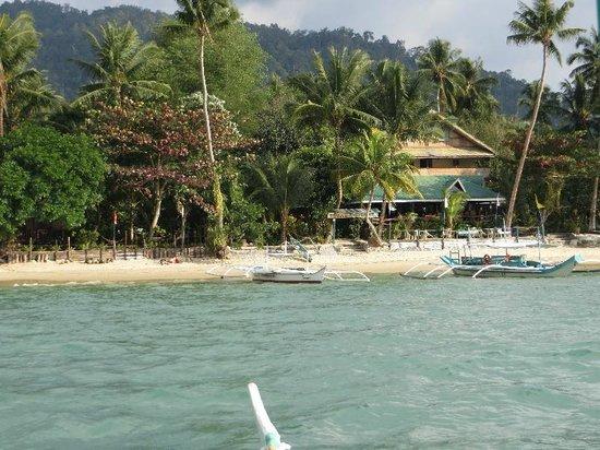 Elsa's Beach Resort : À proximité de la plage