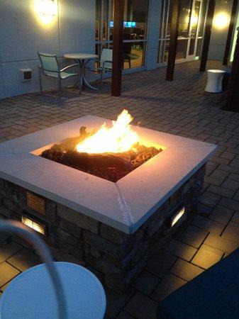SpringHill Suites Voorhees Mt. Laurel/Cherry Hill : Fire pit