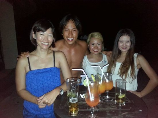 Club Med Kani : Naughty Lim and adorable Ines, tks for your entertainment.
