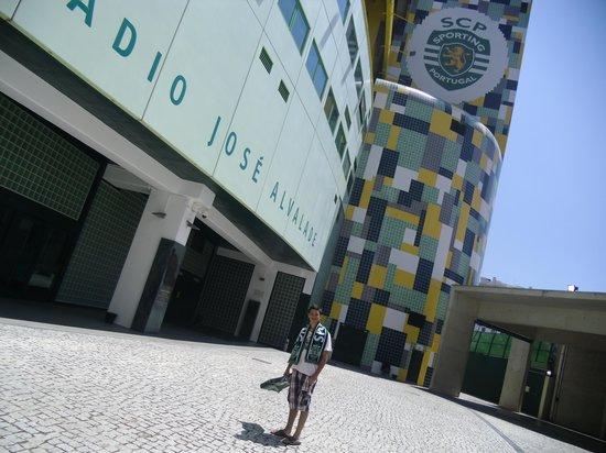 Estadio de Alvalade : Fachada do Estádio
