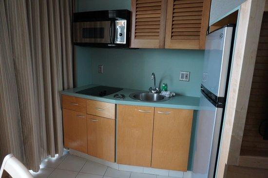Port Royal Hotel: small kitchenette