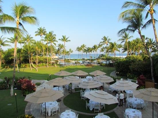 Fairmont Orchid, Hawaii: View from Lobby