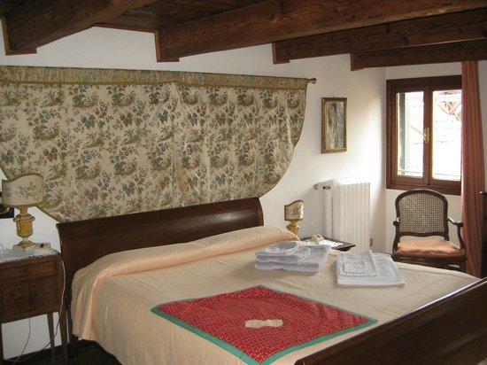 Palazzetto da Schio : Bedroom tapestry