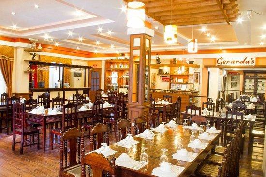 Gerarda's: The interiors